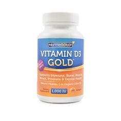 Nutrigold Vitamin D3 Gold 1000 IU