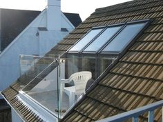 Wonder if this would be possible when I get my attic room re-roofed...?                                                                                                                                                                                 More
