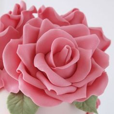 How to make gum paste roses