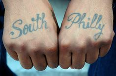 south philly tattoo web by Zoe Strauss, via Flickr