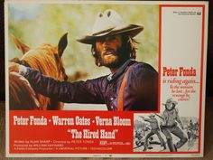 Lobby Card     Hired Hand    1971  Peter by MoviePostersAndMore