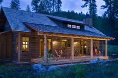 View our picture gallery of the most beautiful log homes and log cabins. View photos of log home interiors, exteriors, kitchens, and architecture. Custom Home Designs, Custom Homes, Cabana, Log Home Interiors, Montana Homes, Montana Living, Log Cabin Homes, Log Cabins, Rustic Cabins