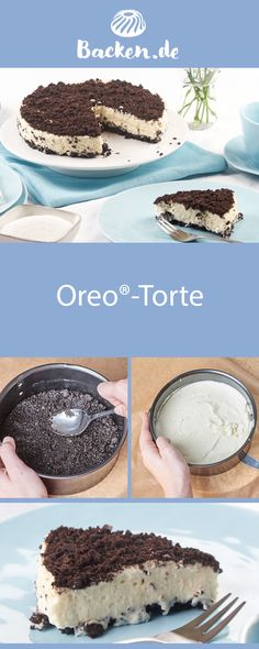 This original cake impresses with the typical oreo biscuit taste, completed by a creamy cream. Without baking! This original cake impresses with the typical oreo biscuit taste, completed by a creamy cream. Without baking! Biscuit Oreo, Oreo Biscuits, Food Cakes, Cupcakes, Brownies, Canned Blueberries, Vegan Scones, Sour Foods, Scones Ingredients