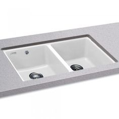 Hartland Undermount Cast Home Double Bowl Kitchen Sink