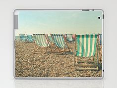 A Sea View Laptop & iPad Skin by Cassia Beck - $25.00