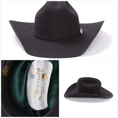 9623eb027dce2 John B Stetson Oak Ridge 3X Cowboy Hat with Silver Buckel Set Item  SWOAKR-71240