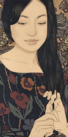 Yasunari Ikenaga - 'Hand-comb Tree Child'  (2012) Japanese artist ... love his serene artworks
