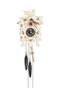 Carved Cuckoo Clocks Cuckoo Clock 1-day-movement Carved-Style 30cm by Anton Schneider