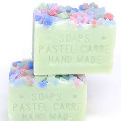 bloom green - 手作り石鹸の通販ショップ artist made soap PASTEL CARRE