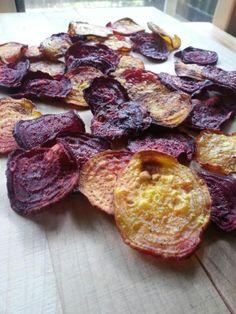 Crunchy, Crispy Beet Chips   CookingLight.com