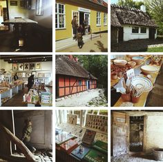 The Open Air museum (Frilands museet) in Lyngby, Denmark