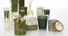 Balsam and Cedar Candles from Illume    The truest Christmas scent! A comforting blend of fresh balsam and oak moss intertwines with aromatic cedarwood, cinnamon and eucalyptus.