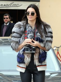 Kendall Jenner Playing Tourist in Rome Will Give You Serious Wanderlust from InStyle.com