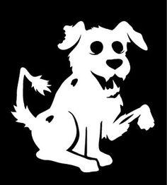 M. . ZOMBIE-DOG.   LOL. Zombie Dog Decal.