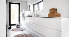 Gjennomtenkt vaskerom i Stensballe | JKE Design
