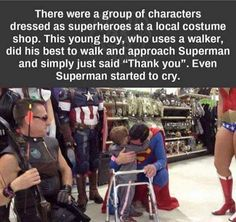 Faith In Humanity Restored – 12 Pics Want more? You can find our previous faith in humanity post here. Sweet Stories, Cute Stories, Happy Stories, Dc Memes, Funny Memes, Rasengan Vs Chidori, Be My Hero, Human Kindness, Touching Stories