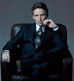 Eddie Redmayne's New York look captured in Gotham Magazine.