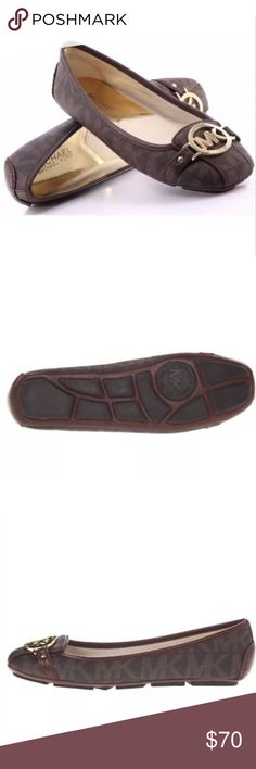 Michael Kors Fulton Moccasin Signature Logo Flats The 'Fulton Moccasin' from MICHAEL Michael Kors will quickly become your favorite slip-on. WIDE SOLE  Logo embellishment on vamp. Leather lining. Lightly padded footbed. Flexible rubber sole. KORS Michael Kors Shoes Flats & Loafers