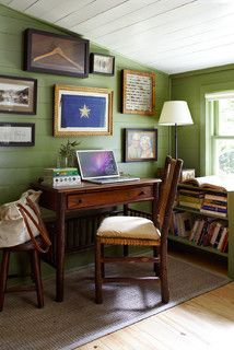Historic House - farmhouse - home office - austin - by Tim Cuppett Architects