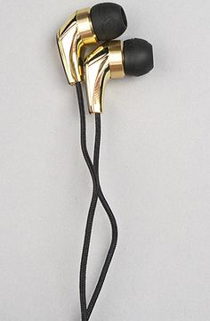 The 50/50 w/ Mic Headphones in Black & Gold Unisex's Headphones By Skullcandy