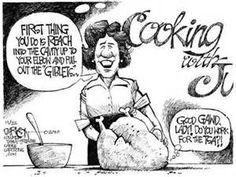 Thanksgiving With the TSA - Political Cartoon