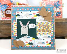 We are jumping straight into the autumnal season with our gorgeous, free paper download! Adorned with cheeky foxes and bunnies, pretty clouds and lovely leaf illustrations, this collection of designs will be a joy to work with!...