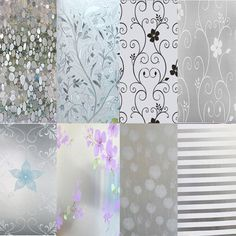 Waterproof Glass Frosted Bathroom  window Privacy Self Adhesive Film Sticker LGC #Unbranded