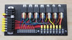 7-Relay Panel with Push-Ons