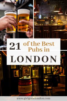 Whether you meet at the pub with friends for a drink or you have a casual work meeting or you're there to celebrate a special occasion, it's been said that a pub is a British person's living room, meaning that it's here that they hang out and entertain. Best Countries In Europe, London With Kids, Work Meeting, Best Pubs, London Night, London Attractions, London Food, Things To Do In London, Beautiful Places To Visit