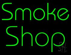 Green Smoke Shop Neon Sign 24 Tall x 31 Wide x 3 Deep, is 100% Handcrafted with Real Glass Tube Neon Sign. !!! Made in USA !!!  Colors on the sign are Green. Green Smoke Shop Neon Sign is high impact, eye catching, real glass tube neon sign. This characteristic glow can attract customers like nothing else, virtually burning your identity into the minds of potential and future customers. Green Smoke Shop Neon Sign can be left on 24 hours a day, seven days a week, 365 days a year...