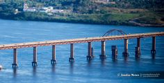 Ponte Ferroviaria by Jordao Nunes Farias on Cities, Bridge, Bridge Pattern, Bridges, City, Attic, Bro