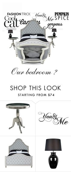 """""""My&friends bedroom"""" by annamarie-navratilova ❤ liked on Polyvore featuring interior, interiors, interior design, home, home decor, interior decorating, WALL, MacKenzie-Childs, Lite Source and Lord Lou"""