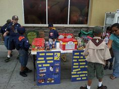 Popcorn sales for the Military and our Pack