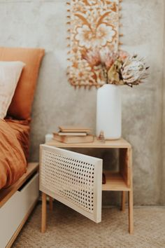 Furniture Projects, Furniture Makeover, Diy Furniture, Diy Nightstand, Style Deco, Boho Diy, Diy Interior, Dream Decor, Decoration