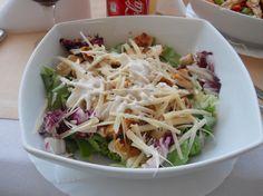 salata caesar Cabbage, Vegetables, Food, Salads, Veggies, Essen, Cabbages, Vegetable Recipes, Yemek
