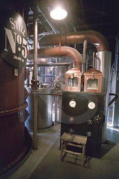 Jack Daniels Distillery, Still #5, Lynchburg, Tennessee