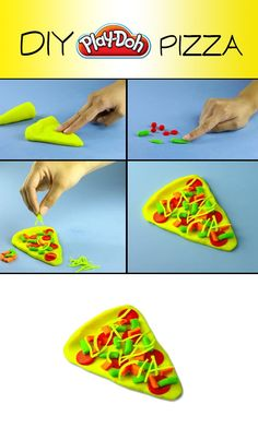 Fun times ahead with DIY Play-Doh Pizza