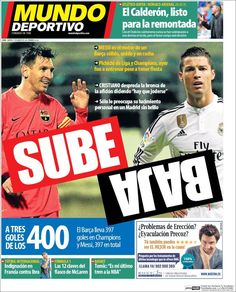 Portada Mundo Deportivo 17/03/2015