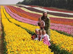 Israel had turned a desert into a garden....Negev desert is blooming.....beautiful