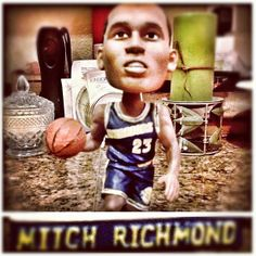Mitch Richmond Golden State Warriors bobble head