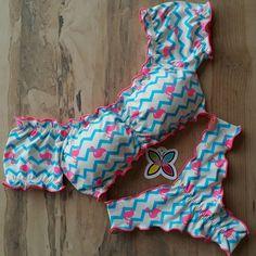 Summer Bikinis, Cute Bikinis, Bathing Suits For Teens, Bikini Outfits, Cute Lingerie, Beachwear Fashion, High Waisted Bikini Bottoms, Women Swimsuits, Ideias Fashion