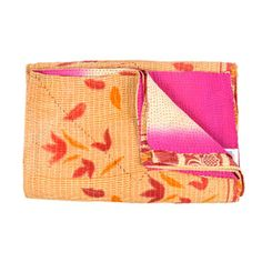 I pinned this from the Shilpa Rathi - Vibrant Kantha Quilts Made from Vintage Sarees event at Joss and Main!