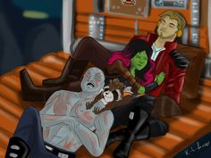 Guardians Of The Galaxy by AvengerBlackwidow
