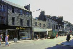 Aberdeen Scotland, Silver City, North Sea, Dundee, East Side, Street View, Scene, Grey, Beautiful
