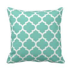 =>>Save on          Quatrefoil Pillow - Turquoise Pattern           Quatrefoil Pillow - Turquoise Pattern today price drop and special promotion. Get The best buyHow to          Quatrefoil Pillow - Turquoise Pattern please follow the link to see fully reviews...Cleck Hot Deals >>> http://www.zazzle.com/quatrefoil_pillow_turquoise_pattern-189394737032451334?rf=238627982471231924&zbar=1&tc=terrest