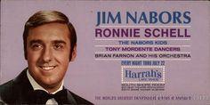 Jim Nabors, Ronnie Schell Lake Tahoe Nevada Celebrities
