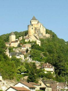 Castelnaud la chapelle le village de castelnaud et son ch teau