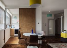 Adrian Manea refurbishes Modernist flat in Belsize Park