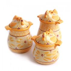 temp-tations by Tara: temp-tations® Old World 3-pc. Figural Chicken Canister Set. $39.97