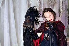 Dark Goddess Head Piece / Raven Queen Crown / Black Feather  www.RPDesignHouse.etsy.com #darkfashion #cosplay #costume #mask #headdress #couture #armor #leatherwork #leathermask #gothfashion #performance #film